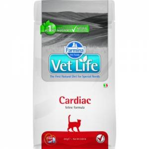Корм Vet Life Cat 0,4kg Cardiac