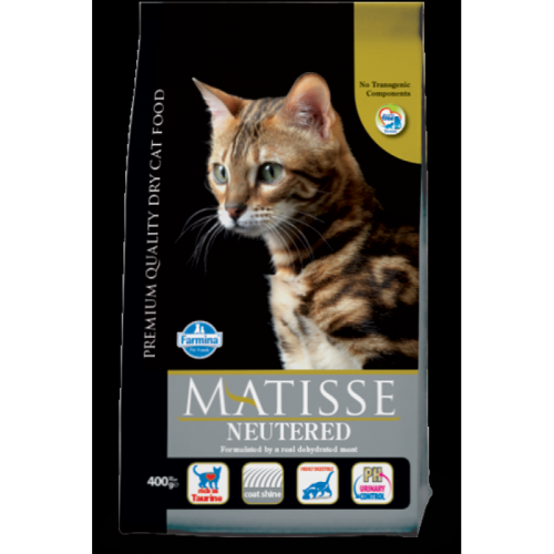 Корм Matisse Neutered, 400gr