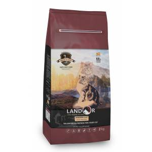 Сухой корм Landor Cat Duck&Rice Indoor сухой корм для домашних кошек утка с рисом