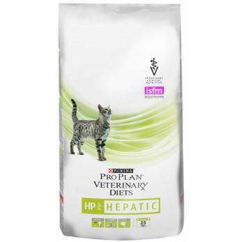 Purina Pro Plan Veterinary Diets HP при заболевание печени 1.5 кг