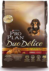 Сухой корм для собак Purina Pro Plan Duo Delice Mini Adult Canine Chicken&Rice с Курицей