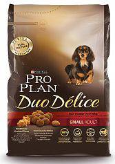 Сухой корм для собак Purina Pro Plan Duo Delice Small Adult Canine Beef&Rice с Говядиной