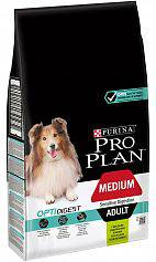 Сухой корм для собак Purina Pro Plan Medium Adult Sensetive Digestion с Ягненком