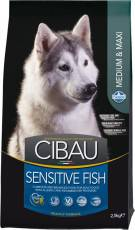 CIBAU SENSITIVE FISH MEDIUM & MAXI (Сибау сенситив медиум и макси с рыбой)